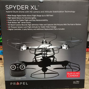 propel spyder xl drone